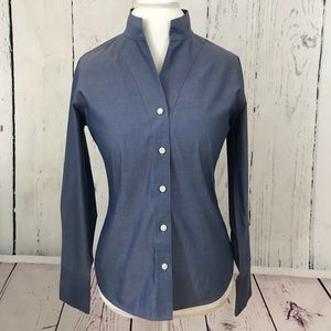 Orvis Button Down Long Sleeve Shirt Size 8